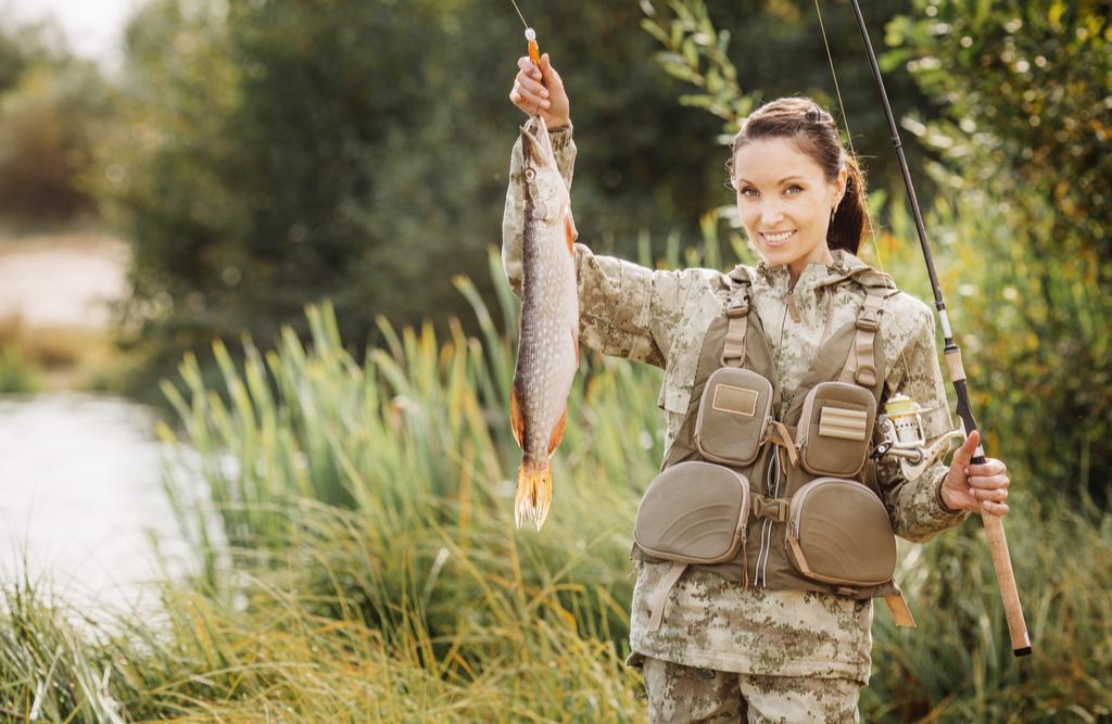 Wędkarstwo hobby nie tylko dla kobiet